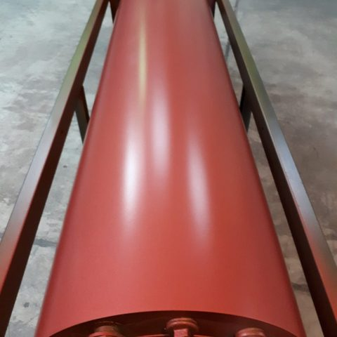 Wał używany w przemyśle tekstylnym