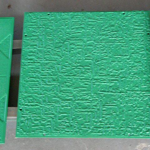 Antyadhezyjna powłoka na formach do produkcji wyrobów styropianowych