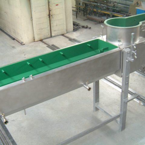Korpus maszyny do produkcji sera mozzarella